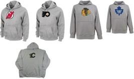 NHL Big Men's Hoodie Tek Patch Hockey Pullover Hooded Sweatshirt Majestic NEW