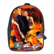 School bag 3 sizes the world is not enought james bond - $39.00+