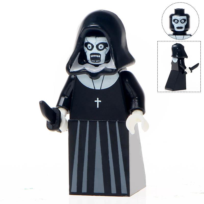 Dy legoingly jack skellington vampire pumpkin building blocks horror movie toys for children  1