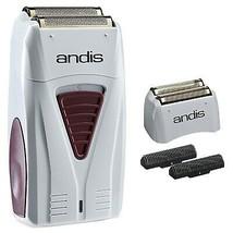 Andis Men's Titanium Foil Shaver with Bonus Replacement Foil #17150 & #17155 - $79.19