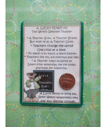 """Male Teacher"" Shiny Lucky Penny Magnetic or Tu... - $4.00"