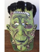 2002 Disguise Giant FRANKENSTEIN MASK Thick Latex DETAILED w Furry Hair ... - $77.39