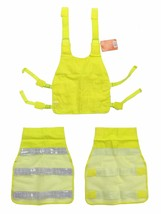REFLECTIVE YELLOW SAFETY VEST DY01 ANSI CLASS 2 with Reflective Strips image 2