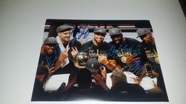 DraymondGreen StephCurry KevinDurant DarylCousins KlayThompson signed w... - $399.00