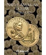 Native American Dollar Coin Folder Album Starting 2009 by H.E. Harris - $8.49
