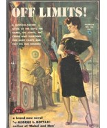 Off Limits!, George L. Bottari 1953 Rainbow Book #130 1st Print VERY GOOD+ - $48.31