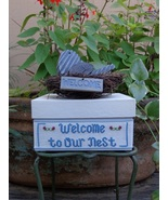 Welcome To Our Nest EXCLUSIVE KIT (Aida) cross ... - $27.50