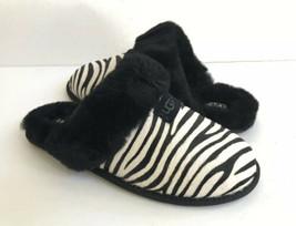 Ugg Scuffette Exotic Zebra Shearling Lined Slippers Us 10 / Eu 41 / Uk 8 - $79.48