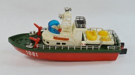 Vintage New Bright Fire Department Boat 1970s 1980s Coast Guard #1081 Ho... - $27.99