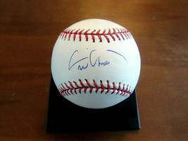 ERIC CHAVEZ A'S YANKEES DIAMONDBACKS SIGNED AUTO OML BASEBALL TRISTAR ML... - $69.29