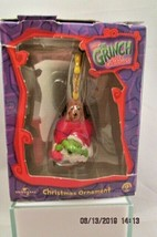 How The Grinch Stole Christmas Sideshow Toy 2000  Tree Ornament Dog & Gr... - $12.19