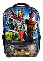 "Marvel Avengers Infinity War Full-Size 16"" School Backpack w/ Molded Front Panel - $29.67"