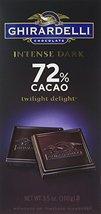 Ghirardelli Chocolate Intense Dark Bar, Twilight Delight 72% Cacao, 3.5-Ounce - $9.99