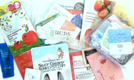 Korean Beauty Samples 20-Piece Foil Packet Sample Bag + Free Gift - $20.00
