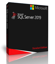 Microsoft SQL Server 2019 Standard with 32 Core License, unlimited User ... - $1,480.05