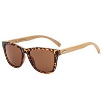 Bamboo sunglasses wooden for Women Men Vintage Wood Sunglasses Retro Cla... - $24.29
