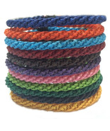 Fair Trade Wax Cotton Mens Thai Wristband Handcrafted Classic Bracelet - $6.19