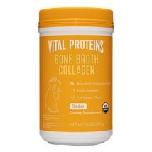 Vital Proteins Organic, Free-Range Chicken Bone Broth Collagen Powder Su... - $41.74