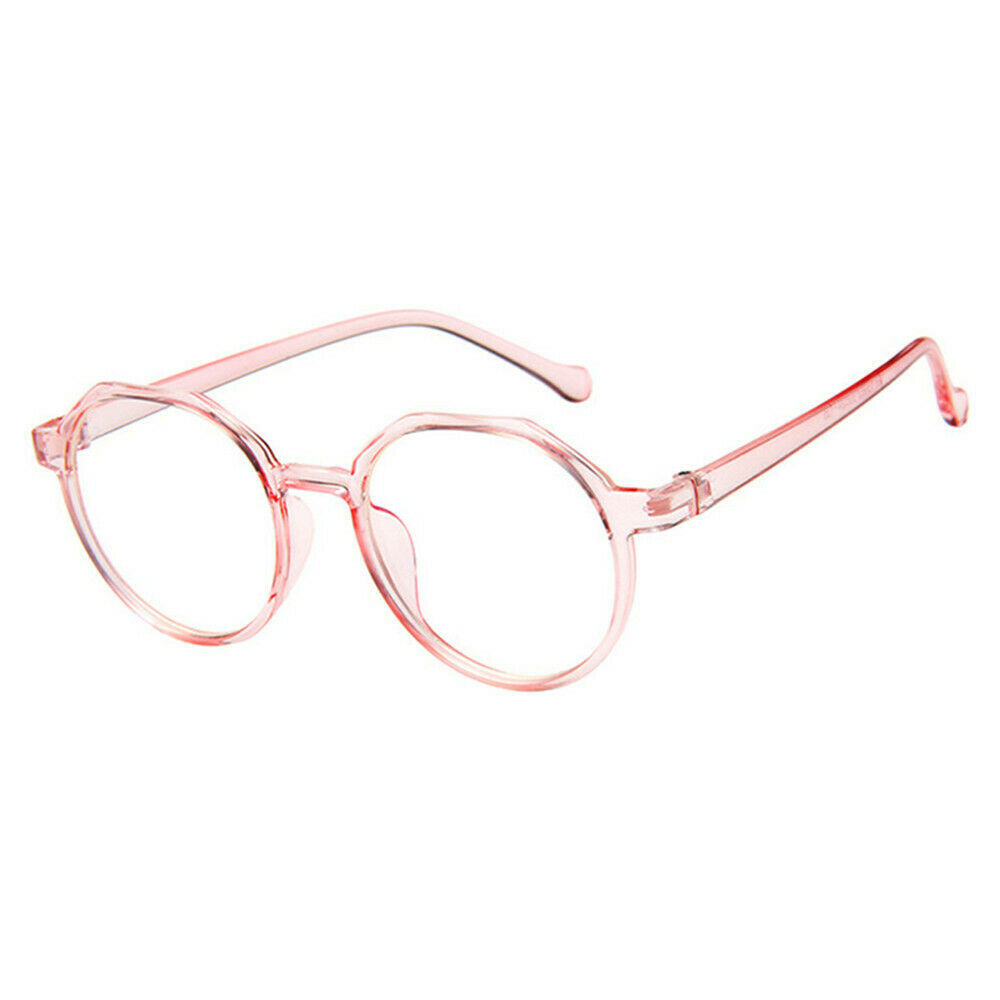 New Oval Fashion Classic Clear Lens Glasses Frame Retro Casual Daily Eyewear image 10