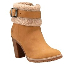 $140 Timberland Glancy Fleece Fold-Down Boots Wheat US Size 9M Style: A19B2 - $1.562,42 MXN