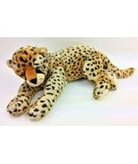 "Ty Jumbo SUPERSONIC Cheetah Leopard 28"" Plush Classic 2004 Stuffed - $125.63"