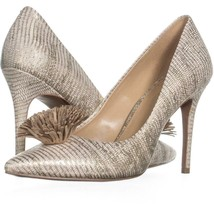 MICHAEL Michael Kors Lolita Pump Tassel Heels 553, Pale Gold, 9 US / 40 EU - $39.35