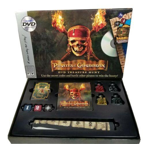 Pirates of the Caribbean DVD Treasure Hunt Board Game Disney Dice Imagination BW - $19.99