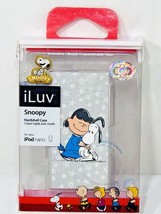 Lot of 2 Peanuts Character Case for iPod Nano Snoopy Lucy ILuv Hard Shel... - $19.68