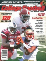 Trent Richardson unsigned Alabama Crimson Tide Athlon Sports 2011 Colleg... - $10.00
