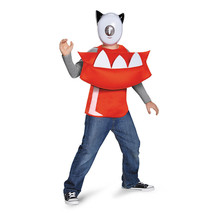 NEW Infernite Vulk Mixels Costume Boy Size 6 Small 8 Med Halloween Top M... - $19.95