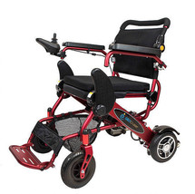 The Geo Cruiser Lx Lightweight Foldable Power Chair (Red) With Free Accessories - $2,395.00