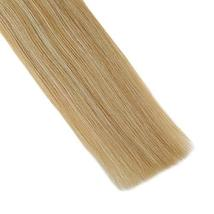 Hetto Double Sided Human Hair Extensions #14 Dark Blonde and #613 Blonde Human H image 5
