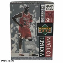 1999 Upper Deck Michael Jordan Size 3.5 x 5 Retirement 23 Card Set Chica... - $18.69