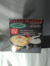 Salsa Master Salsa Maker – Food Chopper, Mixer, Blender, Manual Food Pro... - $20.89