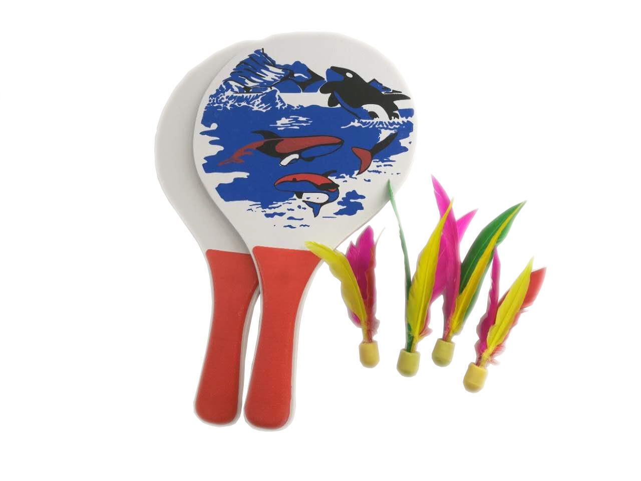 Easy Racket Game Paddle Ball Game Best Badminton Family Lawn Game