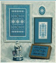 I Love Winter Hardanger Embroidery Seasonal Sampler Rosalyn Watnemo Book - $12.99