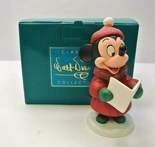 WDCC Disney Classics ~ PLUTO'S CHRISTMAS TREE CAROLER MINNIE #11K413080 ... - $209.99