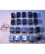 Adjustable Transformer Tuning Coil Assorted Types Grab-Bag USED Qty 20 - $10.92