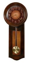 Howard Miller 625-385 (625385) Avery Wall Clock - Rustic Cherry - £179.04 GBP