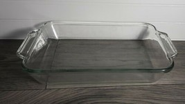 Vintage Anchor Hocking 2 Quart Glass Baking Dish #1031, 8 x 11.5 x 2  *E... - $11.38