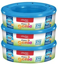 Playtex Diaper Genie Refill 810 Count Total - 3 Pack of 270 Each - $25.27