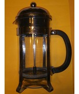 Bodum Stainless Steel/Glass Chambord Styled French Press Coffee Maker - $39.59