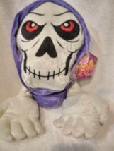 Grim Reaper Skull Day Of The Dead Halloween Plush Toy Sugar Loaf - $18.50