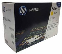 HP 643A Yellow Original LaserJet Toner Cartridge - $161.99