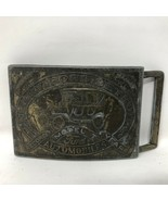 VTG Ford Model T Record Year Henry Ford Automobiles Detroit Belt Buckle ... - $98.99