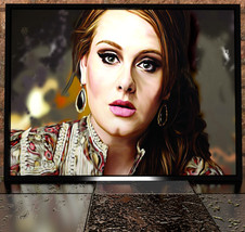 Adele Painting Digital Poster Print - Adele Ill... - $11.99 - $49.99