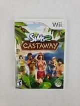 The Sims 2: Castaway (Nintendo Wii, 2007) CIB Complete w/ Manual Game Te... - $9.95
