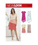 New Look Pattern S0543 Misses' Pullover Dress in Two Lengths, Sizes (10-... - $12.86