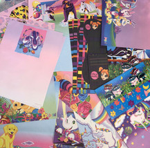 Boredom Buster Bag Lisa Frank Stationery 1 postalette 5 sheets paper&1 pencil