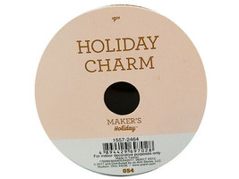 """JoAnn Stores Holiday Charm Maker's Ribbon, 2.5"""" Wire Edged, 25 Feet image 2"""